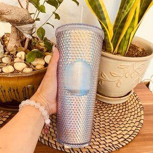 Starbucks Aurora/Unicorn Studded Venti Straw Cup